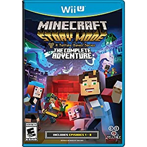 Minecraft: Story Mode- The Complete Adventure - Wii U from Telltale Games