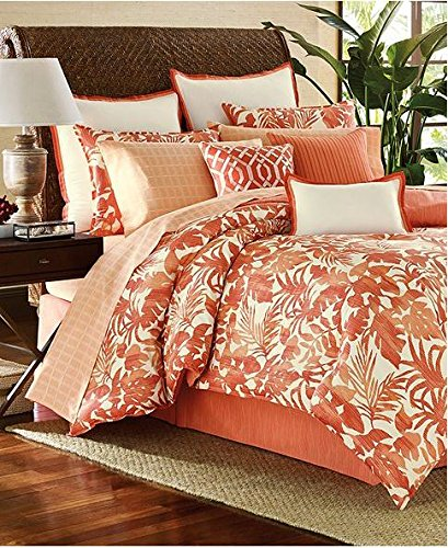 Tommy Bahama Palma Sola King Comforter Set Coral / Ivory front-780937