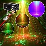 E-electric レーザービーム レーザーステージ ライト RG+RG+B(LED)三色 レーザービーム 5シーン80モード   舞台照明 レーザー演出 レーザーライト / レーザープロジェクタ ステージライト / ディスコ / 舞台...