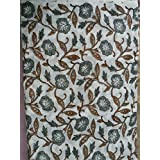 Handicraftofpinkcity African Print By Yard Flower Design Fabric Fabric Block Print Fabric Wood Block Print Fabric...