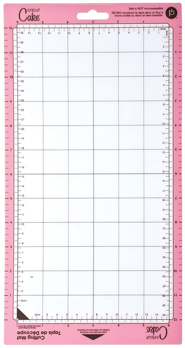 Cricut Cake 2000630 6-Inch by 12-Inch Mini Cutting Mat, Set of 2 (Color: Clear)