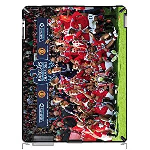 Manchesterunited Hard Back Protective Cover Case For Ipad