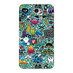002_099_candy Back Case Cover for Sony Xperia E4