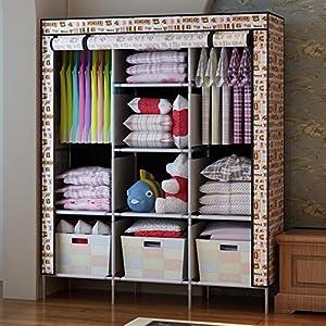 Generic Portable Closet Folding Clothes