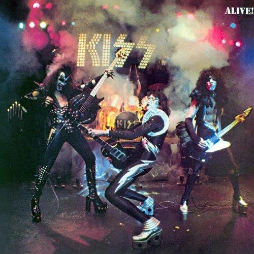 Alive! – Kiss – 1975 [Vinyl LP Records] by Kiss