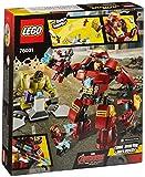 Lego Super Heroes - Marvel - 76031 - Jeu De Construction - Le combat du Hulk Buster