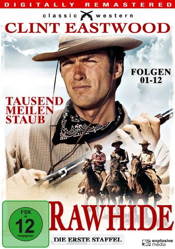 Rawhide - Die erste Staffel (Folgen 01-12) (Classic Western) [3 DVDs]