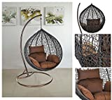 Home Deluxe Polyrattan Hängesessel Cocoon