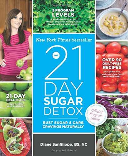 The 21-Day Sugar Detox: Bust Sugar & Carb Cravings Naturally by Diane Sanfilippo BS  NC