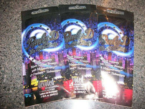 3 Packets 2012 Pauly D After The Party High Intense Black Bronze