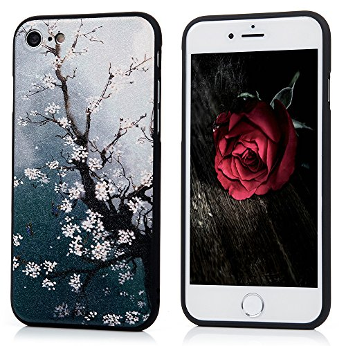 iPhone 7 Case (4.7 Inch) -Kasos Elegant Unique Coloured Printing Flexible Soft TPU Case Shock-Absorption Bumper Cover Thin [Drop Protection][Perfect Fit] Anti-Scratch Protective Case Cover For iPhone 7 (4.7 Inch)