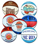 **OVER-RUN MINI RUBBER BASKETBALL SPECIAL** Anaconda Sports® The Rock® 5 inch Mini Rubber Basketball