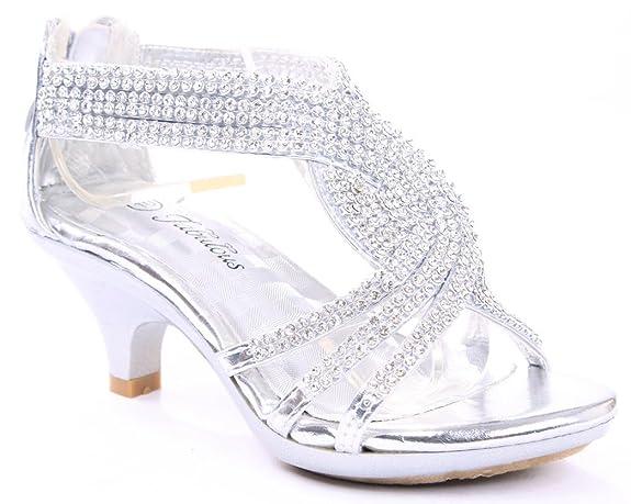 JJF-Shoes-Angel-37-Kids-Little-Girls-Bling-Rhinestone-Platform-Dress-Heels-Sandals