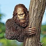 Design Toscano Bigfoot, the Bashful Yeti Tree Halloween Sculpture: Over 11 Diameter Trees