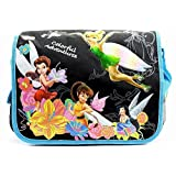 Disney Fairies Girl's Colorful Adventures Black/Blue Messenger Bag