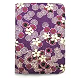 JAVOedge Cherry Blossom Book Case for the Barnes & Noble Nook (Twilight Purple) - First Generation ~ JAVOedge