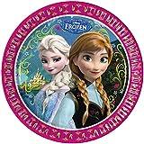 Procos S.A. 23 cm Disney Frozen Paper Plates (Pack of 8)