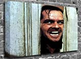 "The Shining in Colour - Jack Nicolson Film Motion Picture Canvas Art Canvas Print Print Picture Size: (36"" x 24"")"