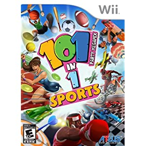 Wii Nintendo 101 In 1 Sports Party Megamix NTSC