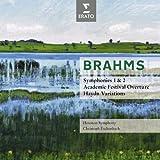Brahms : Symphonies No.1 & 2, Overtures