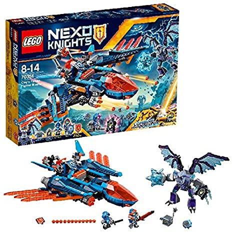LEGO - 70351 - Nexo Knights  - Jeu de Construction -Le faucon de combat de Clay