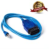 AntiBreak ENET Ethernet Cable R45J Bule OBD OBDII OBD2 Interface Coding f-Series Cable use for Compaitble with INPA E-SYS