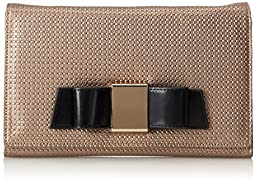 Ivanka Trump Blair Clutch,Pewter,One Size