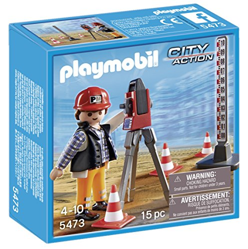 PLAYMOBIL Surveyor Playset - 1