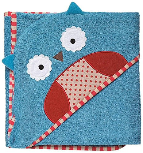 Skip Hop Toddler Towel - Owl - 1