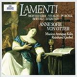 Anne Sofie von Otter - Lamenti (Monteverdi, Vivaldi, Purcell, Bertali, Legrenzi) / Goebel