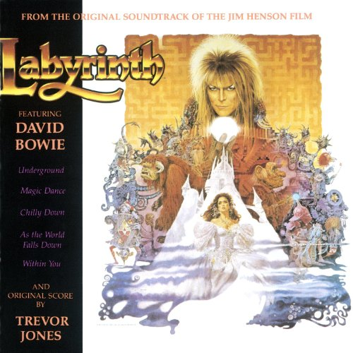 Original album cover of Labyrinth: From The Original Soundtrack Of The Jim Henson Film by David Bowie