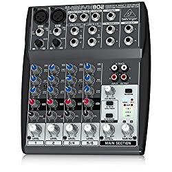 Behringer XENYX 802 Premium 8-Input 2-Bus Mixer