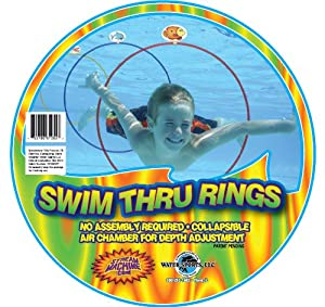 Stream Machine 810557 Swim Thru Rings