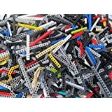 Mixed 1 Pound Lot of Lego Technic Beams with Holes
