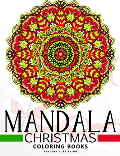 Colorama Coloring Book Animals Mandala Christmas Books Relaxation Series