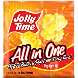 Jolly Time All-in-One Popcorn Kernel, Oil & Salt Portion Kits for 8 oz. Poppers (Pack of 36)