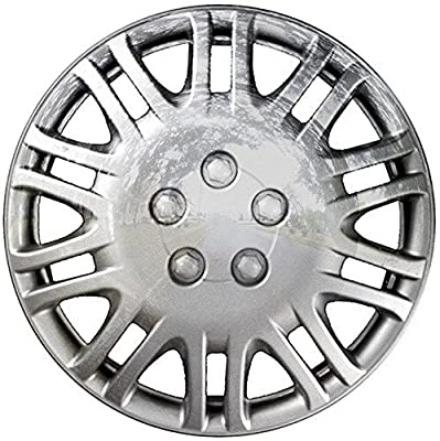 2001-2002 Chrysler Sebring 15 Inch Chrome Clip-On Hubcap Covers (set of 4)