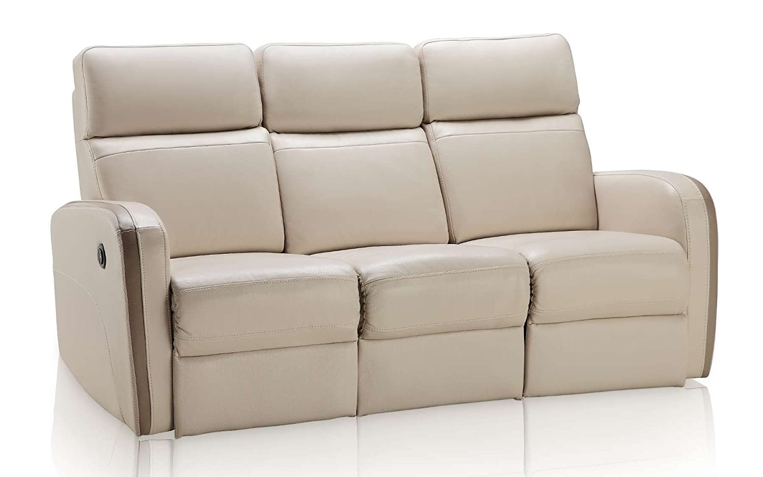 Creative Furniture Argentina Sofa with Power Recliners - Beige