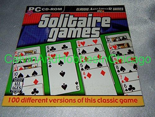 PC TREASURES Classic Solitaire Games ( Windows )