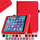 Fintie E FUN Nextbook 7.85 (Nextbook 8) Tablet 8GB Memory Quad Core 2014 Release Model NX785QC8G Folio Case - Premium Leather Cover With Stylus Holder 3 Years Warranty [NOT FIT Premium 8HD] - Red