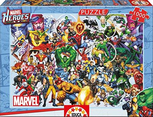 Educa  15193 1000 - Marvel Heroes Collage