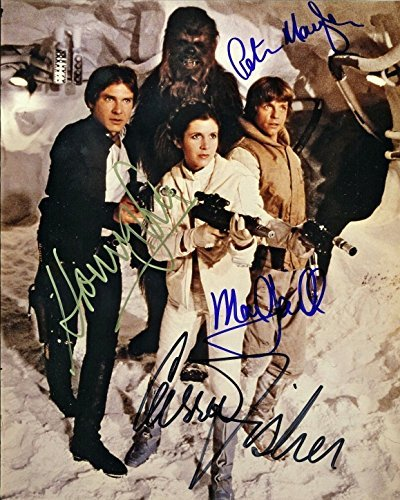 Star-Wars-A-New-Hope-Cast-Signed-Autographed-REPRINT-8x10-inch-Photo-RP