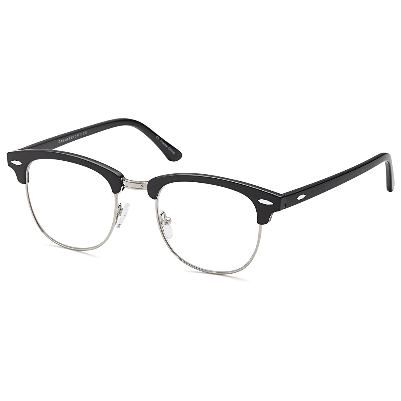 GAMMA RAY READERS Men's Vintage Readers Quality Reading Glasses for Men 1