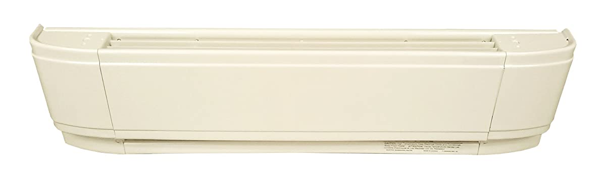 "60"" Electric Baseboard Heater, Almond, 1500W, 240V"