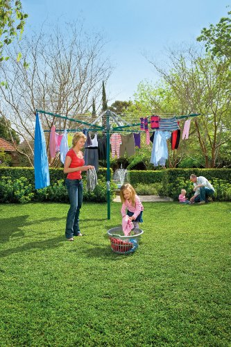 Hills Hoist - Rotary 8 Washing Line - Forest Glade Green