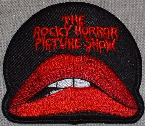 ROCKY HORROR Picture Show Lips & Name Logo Movie PATCH