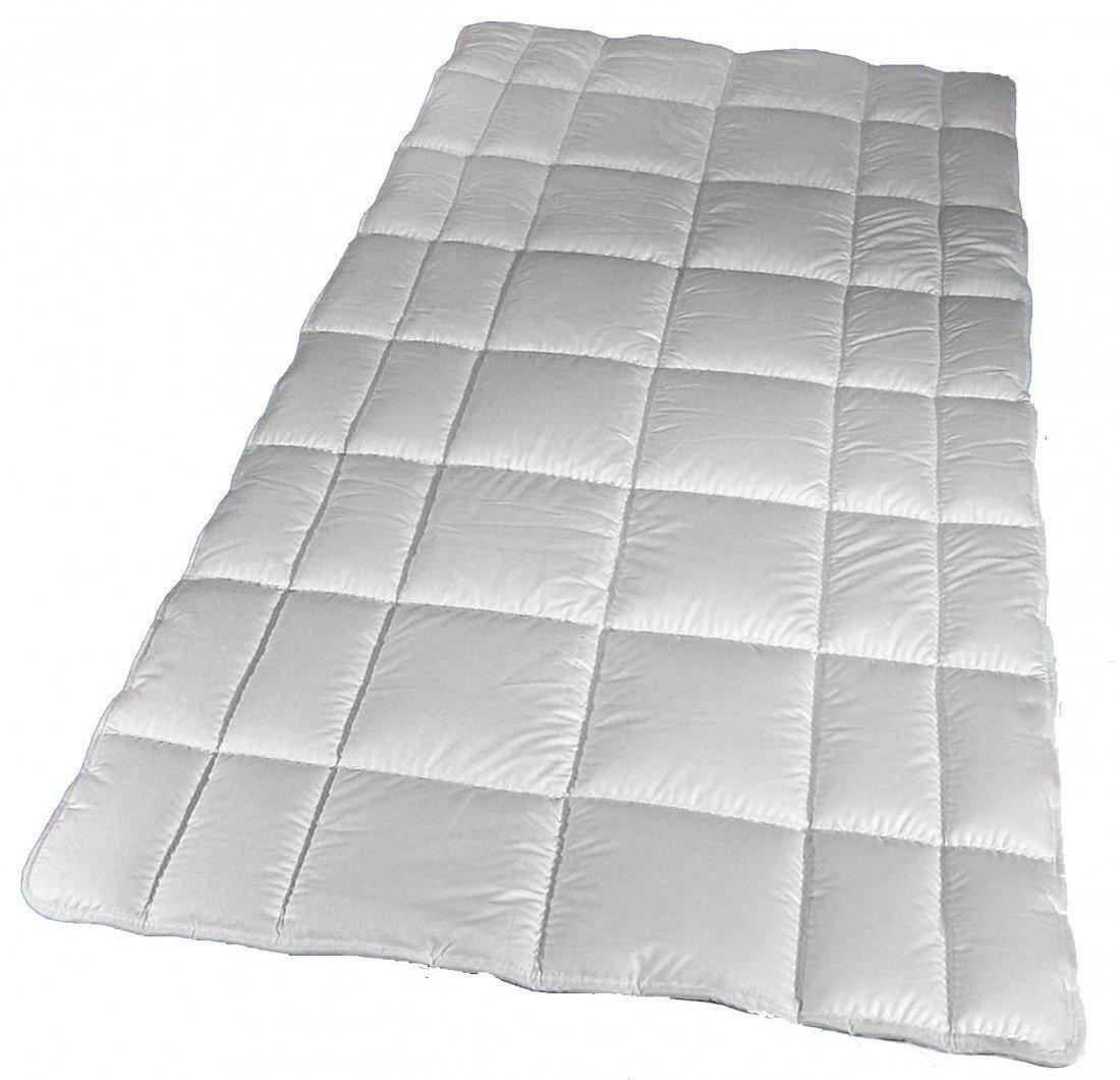 Unterbett 200 x 200 cm – 2800g Merino Füllung naturbelassen – Matratzenauflage Walburga aus 100 % Baumwolle jetzt kaufen