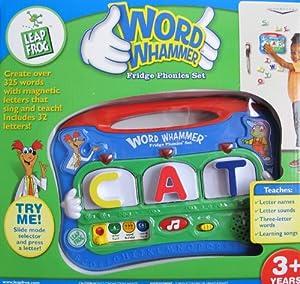 Amazon.com: Leap Frog WORD WHAMMER FRIDGE PHONICS SET w ...