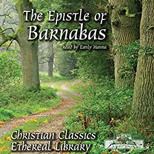 The Epistle of Barnabas Audiobook