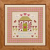 Historical Sampler Co. Home is Where the Heart is Cross Stitch